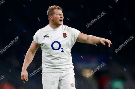 Dylan Hartley of England