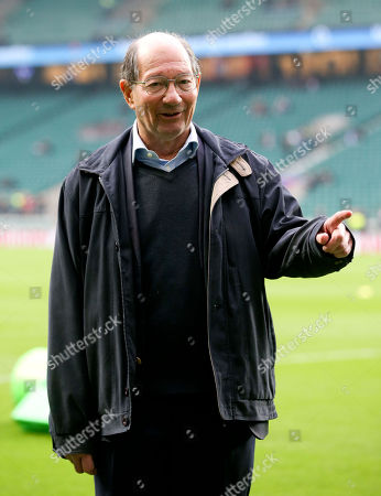 Ian Robertson - BBC Radio commentator at Twickenham on his last day before retirement
