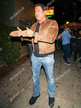 Editorial photo of Keith Middlebrook out and about, Los Angeles, USA - 24 Nov 2018