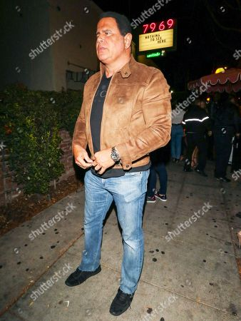 Editorial picture of Keith Middlebrook out and about, Los Angeles, USA - 24 Nov 2018