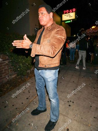 Keith Middlebrook outside Delilah Nightclub