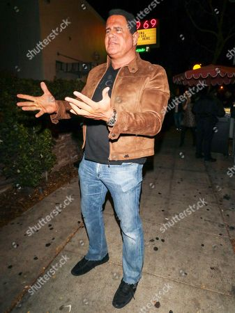 Stock Photo of Keith Middlebrook outside Delilah Nightclub