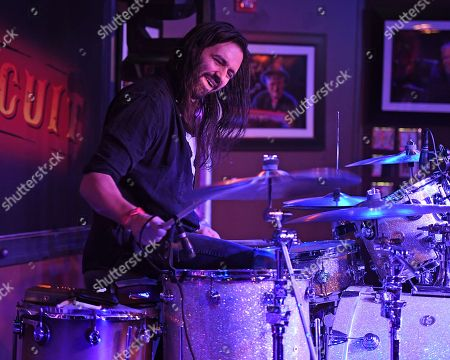 Editorial image of Max Weinberg Band in concert at The Funky Biscuit, Boca Raton, USA - 23 Nov 2018
