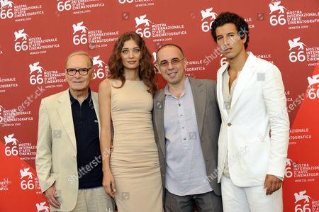 Ennio Morricone, Margaret Made, Giuseppe Tornatore, Francesco Scianna