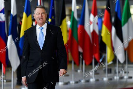 Editorial image of Brexit summit, Brussels, Belgium - 25 Nov 2018