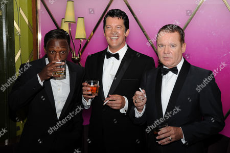 Editorial picture of 'Frank, Dean and Sammy - The Rat Pack Live From Las Vegas' musical, Le Pigalle, London, Britain - 02 Sep 2009