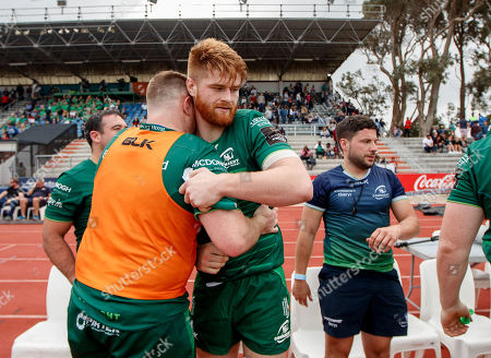 Isuzu Southern Kings vs Connacht. Connacht's Conor Carey and Sean O?Brien after the game