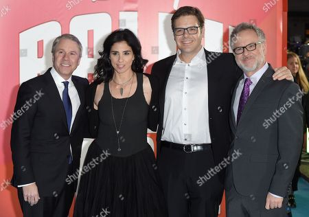 Clark Spencer, Sarah Silverman, Phil Johnston and Rich Moore