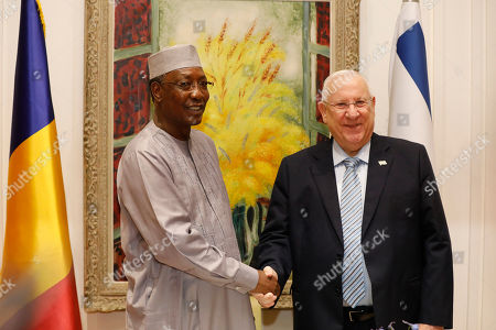 Editorial picture of President of Chad visit Israel, Jerusalem - 25 Nov 2018