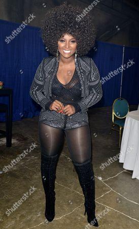 Amara La Negra backstage