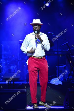 Stock Photo of Marvin Dixon on stage