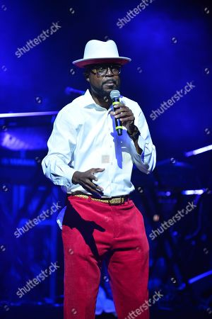 Stock Picture of Marvin Dixon on stage