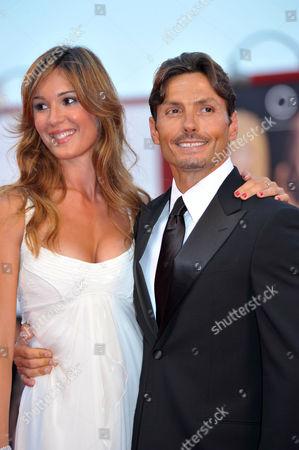 Silvia Toffanin and Piersilvio Berlusconi