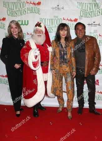 Deidre Hall, Santa Claus, Lauren Koslow, Thaao Penghlis