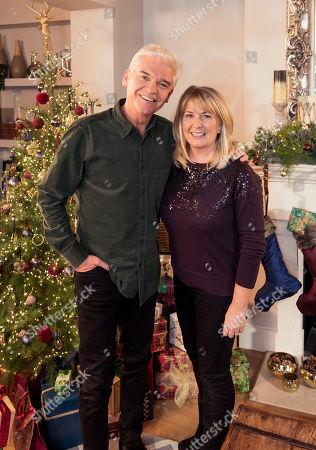 Phillip Schofield with his wife Stephanie Lowe