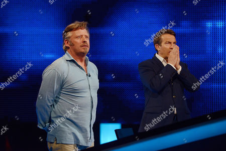 Stock Image of Charley Boorman and Bradley Walsh