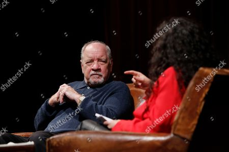 Stock Image of Paul Schrader and Tanya Seghatchian