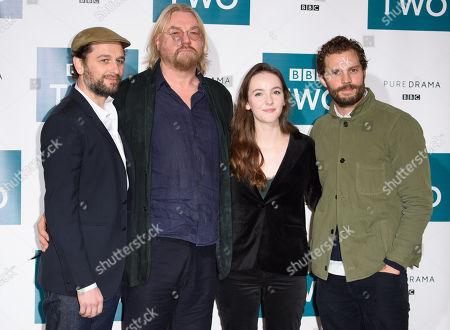 Matthew Rhys, Allan Cubitt, Ann Skelly and Jamie Dornan