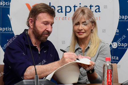 Editorial image of Chuck Norris campaings for 15th Shoe Box fundraising, Budapest, Hungary - 26 Nov 2018