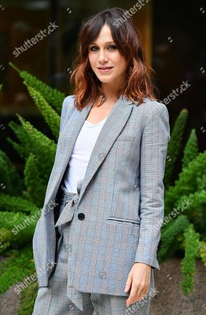 Gabriella Pession poses during a photocall for 'Se son rose...' in Rome, Italy, 26 November 2018. The movie opens in Italian theaters on 29 November.