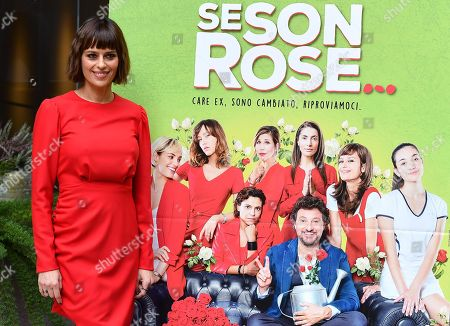 Claudia Pandolfi poses during a photocall for 'Se son rose...' in Rome, Italy, 26 November 2018. The movie opens in Italian theaters on 29 November.