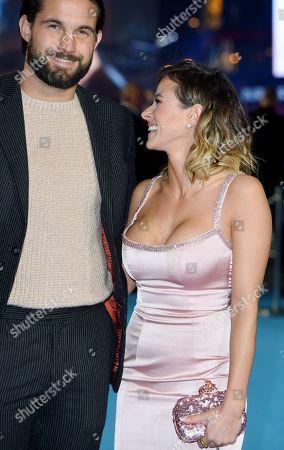 Camilla Thurlow and Jamie Jewitt