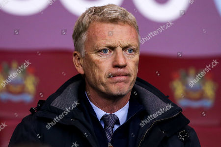 Former Everton, Manchester United and Sunderland Manager David Moyes in the crowd to watch Burnley v Newcastle United in the Premier League