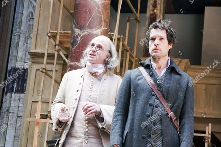 Editorial image of 'A New World: A Life of Thomas Paine' play performed at the Globe Theatre, London, Britain - 01 Sep 2009