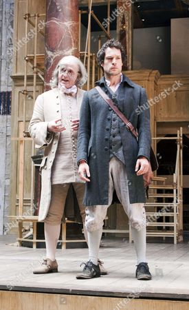 Editorial picture of 'A New World: A Life of Thomas Paine' play performed at the Globe Theatre, London, Britain - 01 Sep 2009