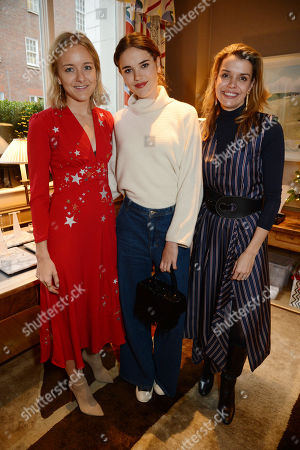 Hermione Olivia, Tatiana Mountbatten and Sabine Roemer