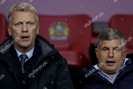 David Moyes in the crowd