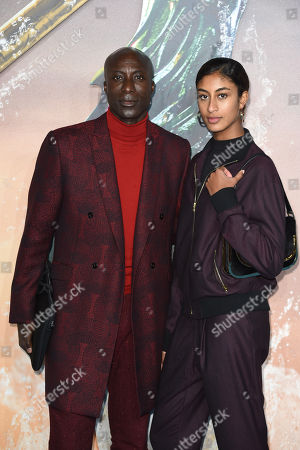 Stock Picture of Oswald Boetang and daughter