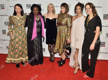 Stock Photo of Elizabeth Rao, Lisa Tharps, Krista Parris, Ashley Connor, Helena Howard, Cindy Ord