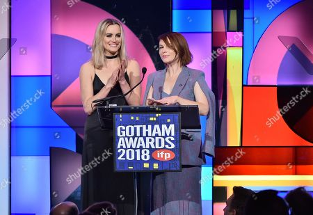 Stock Picture of Taylor Schilling and Amy Siemetz