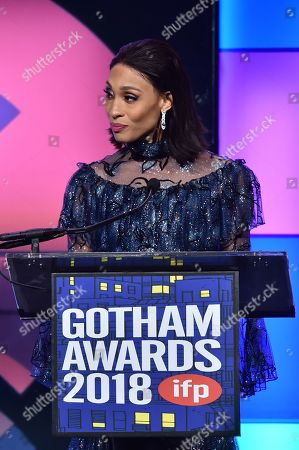 Editorial picture of Independent Filmmaker Project's 28th Annual Gotham Awards, Inside, New York, USA - 26 Nov 2018