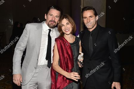 Ethan Hawke, Joana Vicente, and Alessandro Nivola
