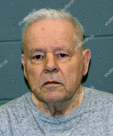 This booking photograph released, by the Waterbury Police Department shows John Jensen, arrested Saturday and charged with attempted murder in a strangulation inside a nursing home in Waterbury, Conn. Charges were upgraded to murder after police said that the victim, identified as 76-year-old Patricia Way, died the next day at St. Mary's Hospital