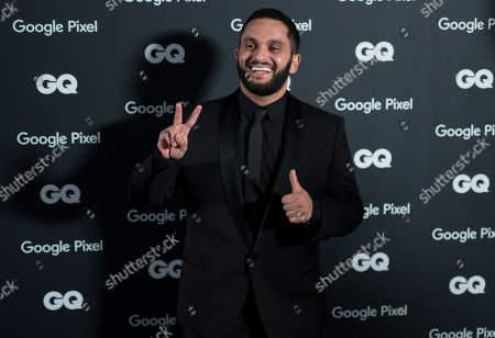 Editorial picture of GQ Men of the Year awards 2018 in Paris, France - 26 Nov 2018