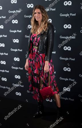 French singer Lorie attends the GQ Men of the Year awards 2018 hosted at the Pompidou center in Paris, France, 26 November 2018. The awards are presented by international monthly men's magazine GQ.
