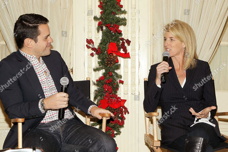 Dave Karger (moderator), Rory Kennedy (Director Above And Beyond)