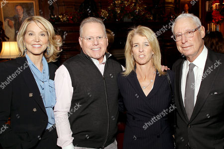 Stock Picture of Paula Zahn, David Zaslav (CEO Discovery), Rory Kennedy (Director Above And Beyond), Henry S. Schleiff