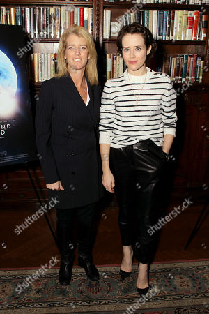 Rory Kennedy (Director Above And Beyond), Claire Foy