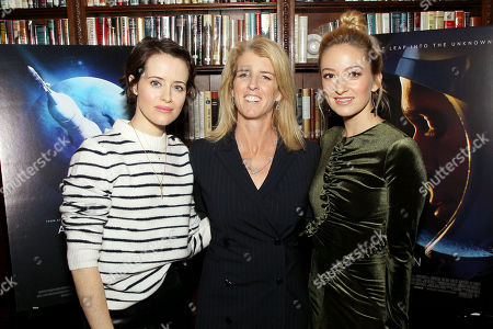 Claire Foy, Rory Kennedy (Director Above And Beyond), Olivia Hamilton