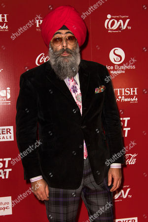 Editorial image of British Curry Awards, London, UK - 26 Nov 2018
