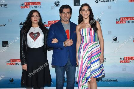 Arleth Teran, Jorge Salinas, Fernanda Castillo