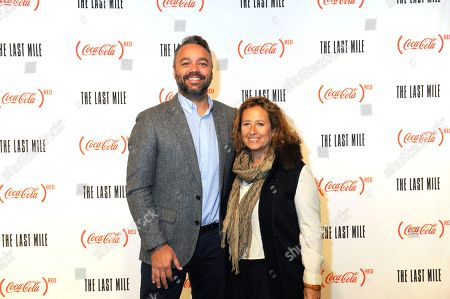 Evan Hayes, Kim Snyder. Evan Hayes, left, and Kim Snyder are seen at the Coca-Cola (RED) event at the Prince Theater on in Philadelphia