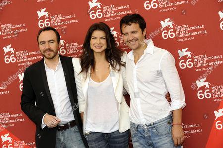 Director Bobby Paunescu, Monica Birladeanu, Dorian Boguta