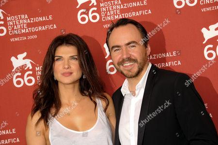 Monica Birladeanu, the Director Bobby Paunescu