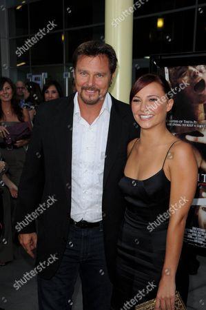 Briana Evigan With father Greg Evigan