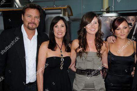 Briana Evigan With Dad Greg Evigan and Family